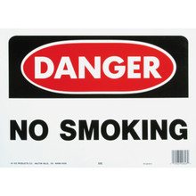 """Danger No Smoking"" Sign"