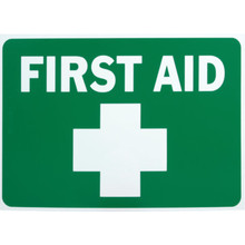"Plastic ""First Aid"" Sign"