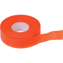 "1"" X 200' Orange Flagging Tape 6/Pk"