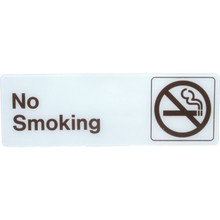 "Plastic ""No Smoking"" Sign"
