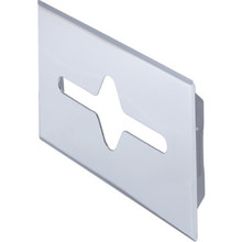 Tissue Cabinet Faceplate Chrome