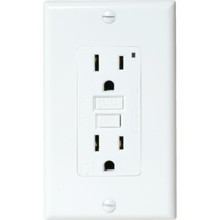 15 Amp Circuit Guard GFCI Receptacle - White