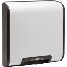 Bobrick Trimline White Surface Mount Touchless Hand Dryer