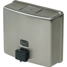 Bobrick Soap Dispenser Horizontal Mount Tall Stainless Steel