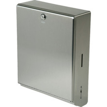 Bobrick Stainless Steel Surface Mount Towel Dispenser