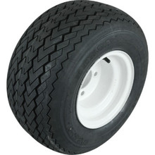 Club Car Utility Vehicle Tire And Wheel Assembly - White