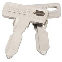 Club Car Replacement Keys Package Of 2