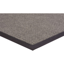 2 x 3' Indoor Floor Mat Gray Apache Absorba