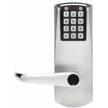 Simplex Access Controls Battery Keypad Lever Lock C Override Satin Chrome