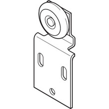 "3/4"" Wheel Front Wardrobe Roller, 3/4"" Wheel Package of 2"