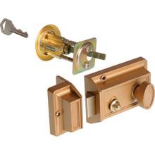 Single Cylinder Rim Nightlatch Brass