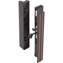 Surface Sliding Glass Door Handle Black