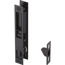 Croft Flush Sliding Glass Door Handle Black