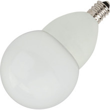 LED Bulb TCP 5W G16 (40W Equivalent) 2700K Candelabra Base Frost Dimmable