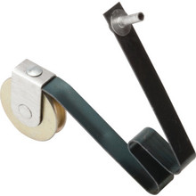 "Sliding Screen Door Roller 1"" Diameter Steel Ball Bearing Wheel, 1/8"" Pin Pk/2"