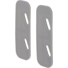 Door Slide Lock Shim, Package of 100