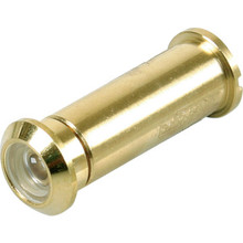 160 Diameter Fire Rated Door Viewer Brass