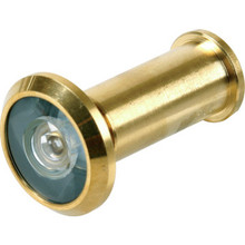 190 Diameter Fire Rated Door Viewer Brass