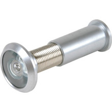 190 Diameter Fire Rated Door Viewer Satin Chrome