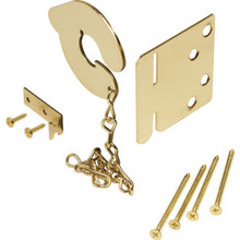 Steel Keyless Door Anchor Bolt Brass