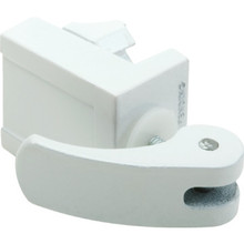 Sliding Door and Window Lock White, Package of 2