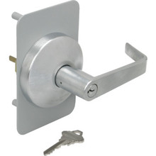 Falcon Key In Lever Trim Satin Chrome