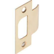ASA Commercial Lockset Strike Plate Brass