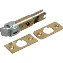 Kwikset 6-Way Deadlatch Combination Brass