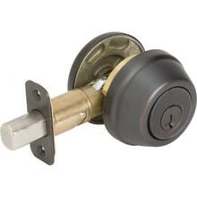 Kwikset Single Cylinder Deadbolt With SmartKey ANSI Grade 2 Venetian Bronze