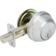 Kwikset Key Control Deadbolt With SmartKey Satin Chrome