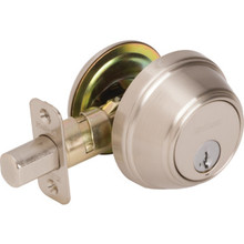 Kwikset Key Control Deadbolt With SmartKey Satin Nickel