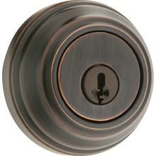 Kwikset Heavy Duty Single Cylinder Deadbolt Venetian Bronze