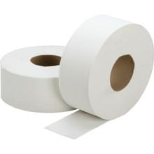 """Jumbo Roll Toilet Tissue, 1-Ply, 3.7""""W x 2000'L"""