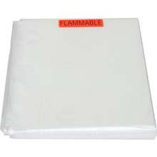 9 x 12' NISH Clear Plastic Drop Cloth
