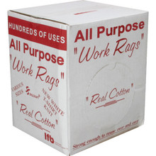 Cotton Wiping Rags Box Of 5 Pounds