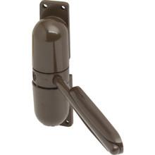Light-Duty Mini Door Closer Brown