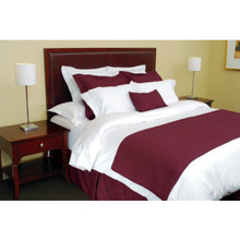 Adorn Bed Scarf Queen 82x26 Redwood Case Of 6