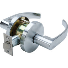 Falcon Quantum Cylindrical Passage Lever Satin Chrome