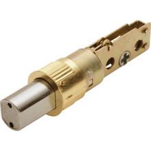 Shield Security 2-Way Drive-In Deadbolt Latch Brass