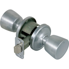 Kwikset Abbey Passage Knob Satin Chrome