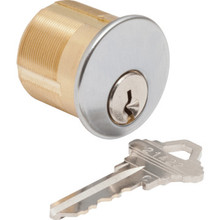 Mortise Cylinder-Standard Cam, SC1 KD Satin Chrome