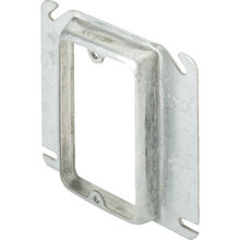 "4"" Square 5/8"" Raised Single Gang Cover"