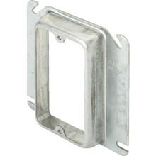 "4"" Square 3/4"" Raised Single Gang Cover"