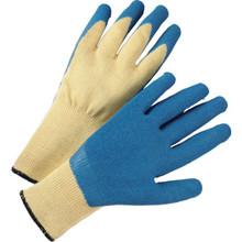Glove 100% Kevlar Knit Latex Palm - Large