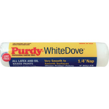 "1/4"" Nap 9"" Purdy White Dove Paint Roller Cover"