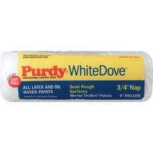 "3/4"" Nap 9"" Purdy White Dove Paint Roller Cover"