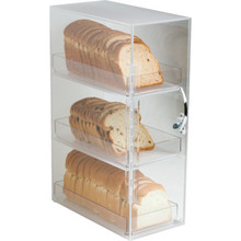 3 Shelf Acrylic Bread Box