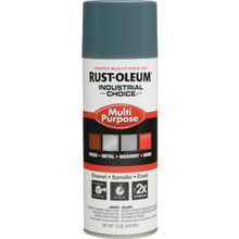 12 Ounce Rust-Oleum Industrial Choice Enamel Gloss Spray Paint - Machine Grey