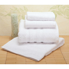 Best Western Basic Green Hand Towel Dobby 16x27 3 Lbs/Dozen White Case Of 120