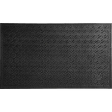 2 x 3' Outdoor Floor Mat Black Andersen Super Scrape